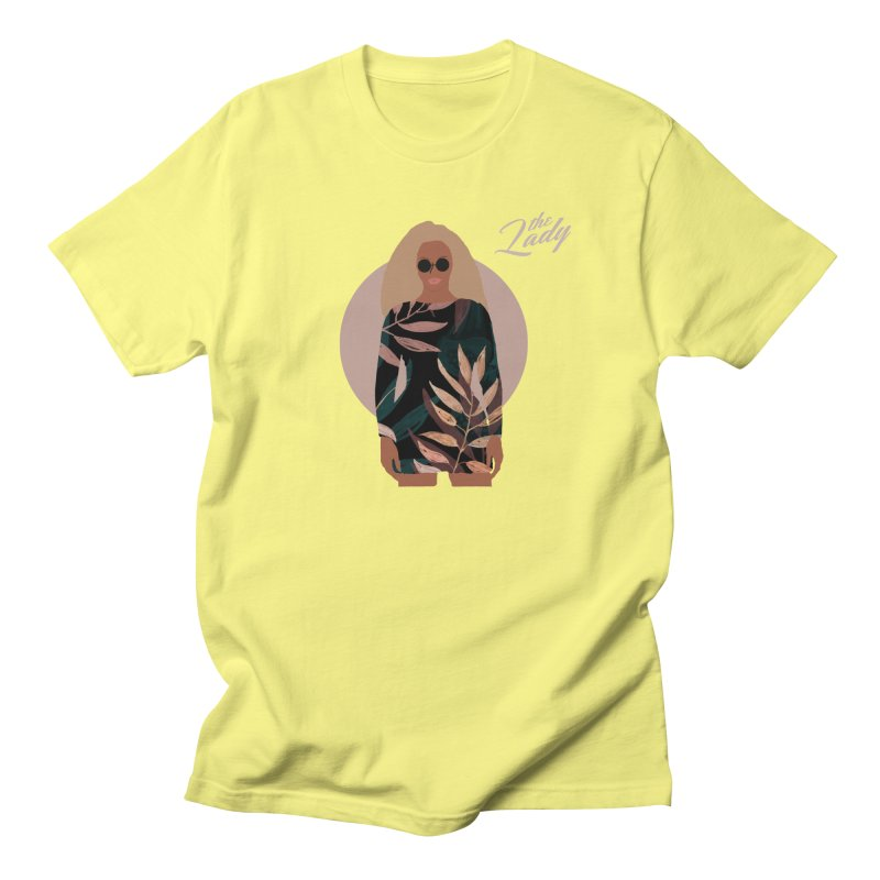 THE LADY Men's T-Shirt by theladyernestember's Artist Shop
