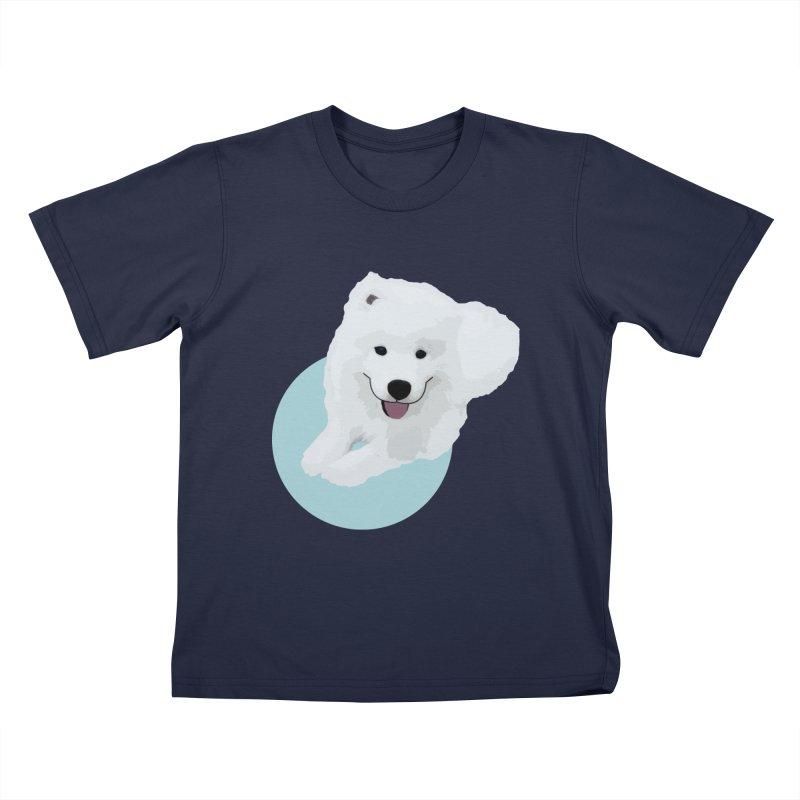 THE PET - DOG Kids T-Shirt by theladyernestember's Artist Shop