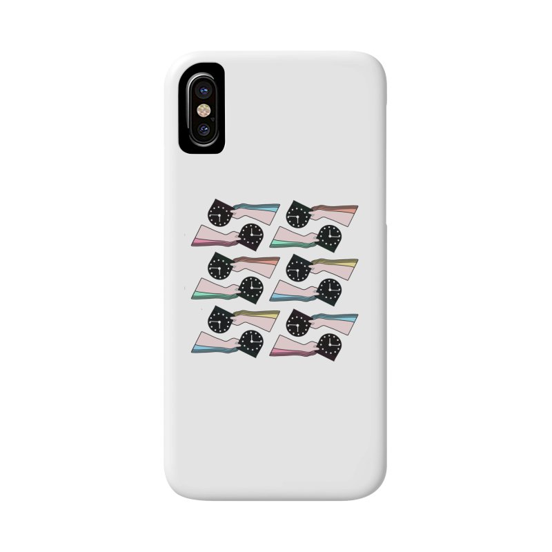 THE PATTERN - TIME Accessories Phone Case by theladyernestember's Artist Shop
