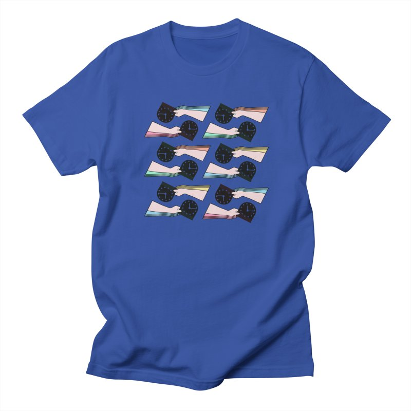 THE PATTERN - TIME Men's T-Shirt by theladyernestember's Artist Shop
