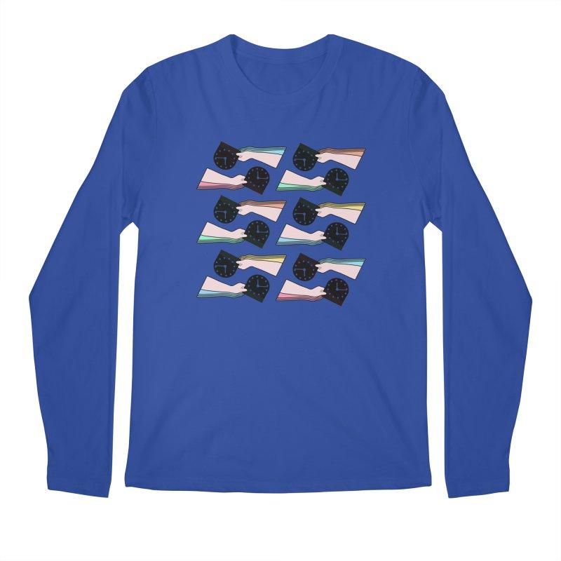THE PATTERN - TIME Men's Longsleeve T-Shirt by theladyernestember's Artist Shop