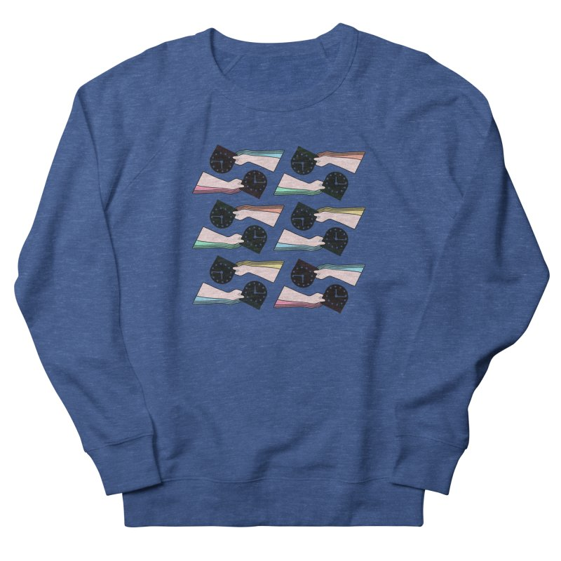THE PATTERN - TIME Men's Sweatshirt by theladyernestember's Artist Shop