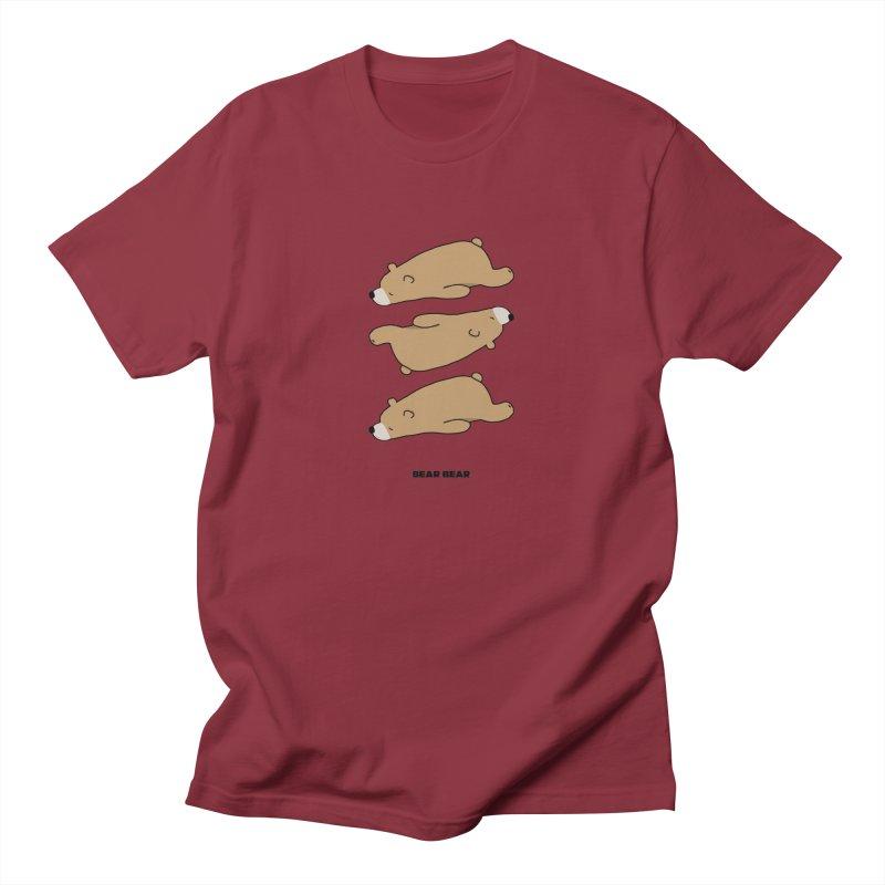 THE PATTERN - BEAR BEAR Men's T-Shirt by theladyernestember's Artist Shop