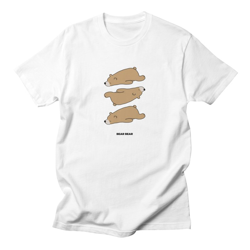 THE PATTERN - BEAR BEAR Men's T-Shirt by theladyernestember's Artist Shop