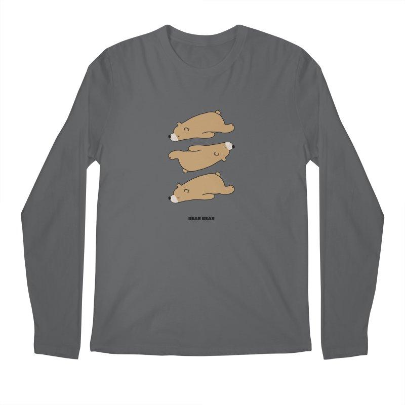 THE PATTERN - BEAR BEAR Men's Longsleeve T-Shirt by theladyernestember's Artist Shop