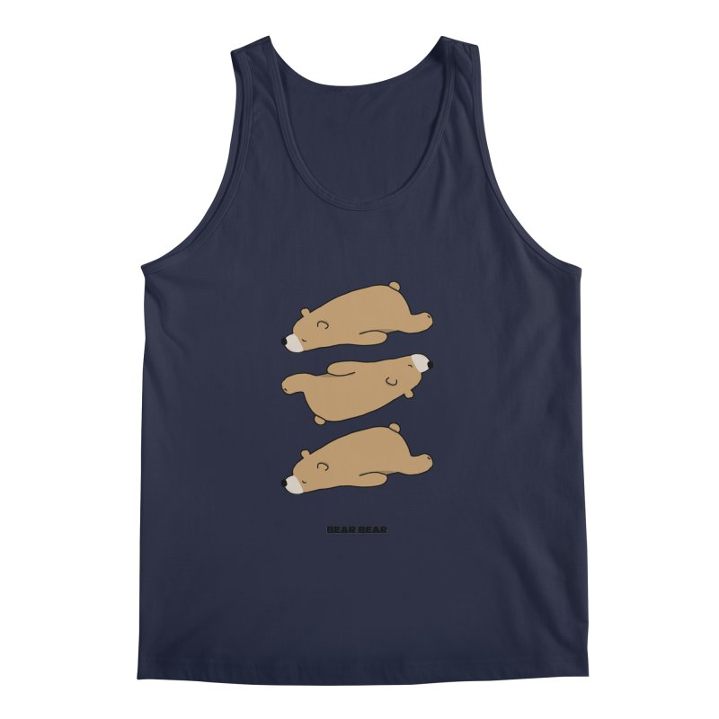 THE PATTERN - BEAR BEAR Men's Tank by theladyernestember's Artist Shop