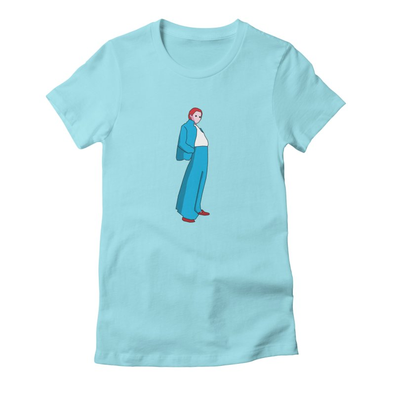 Lady Women's T-Shirt by theladyernestember's Artist Shop