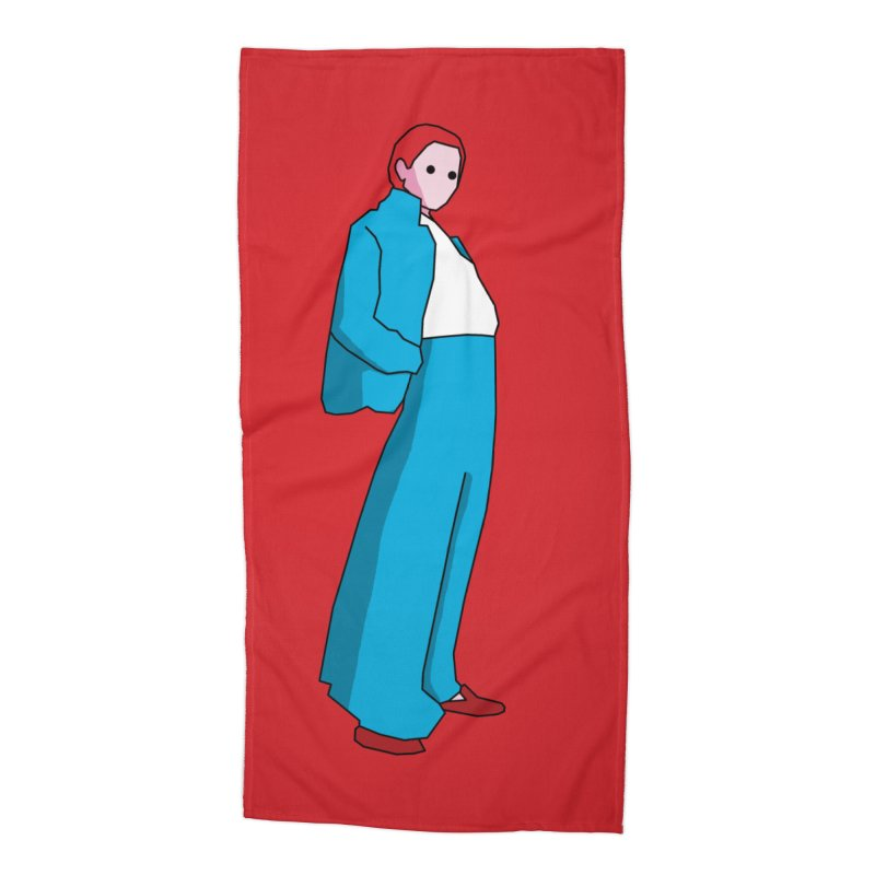 Lady Accessories Beach Towel by theladyernestember's Artist Shop