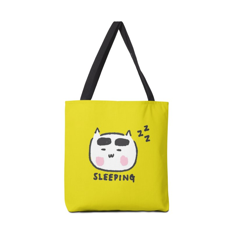 Sleeping Cat Accessories  by theladyernestember's Artist Shop