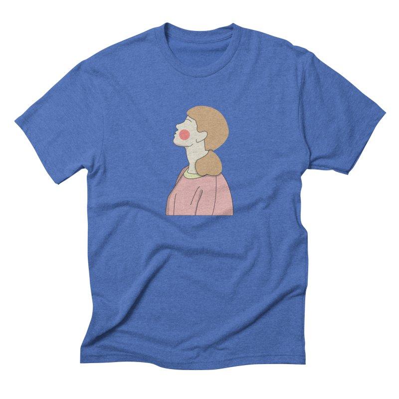 lady Men's Triblend T-Shirt by theladyernestember's Artist Shop