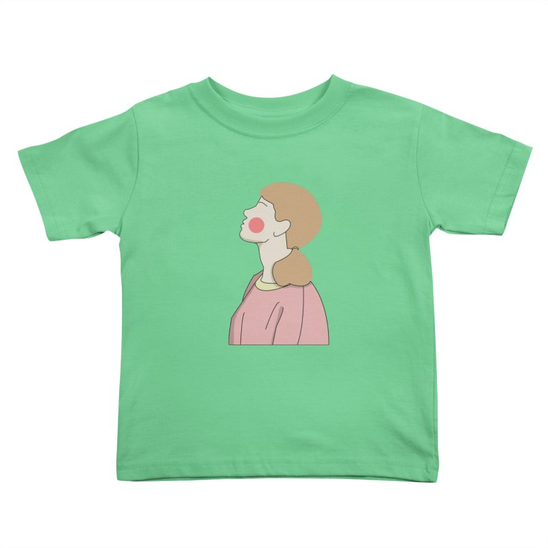 lady Kids Toddler T-Shirt by theladyernestember's Artist Shop