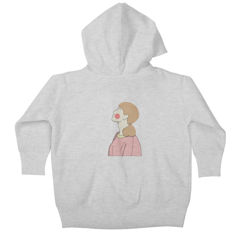 lady Kids Baby Zip-Up Hoody by theladyernestember's Artist Shop