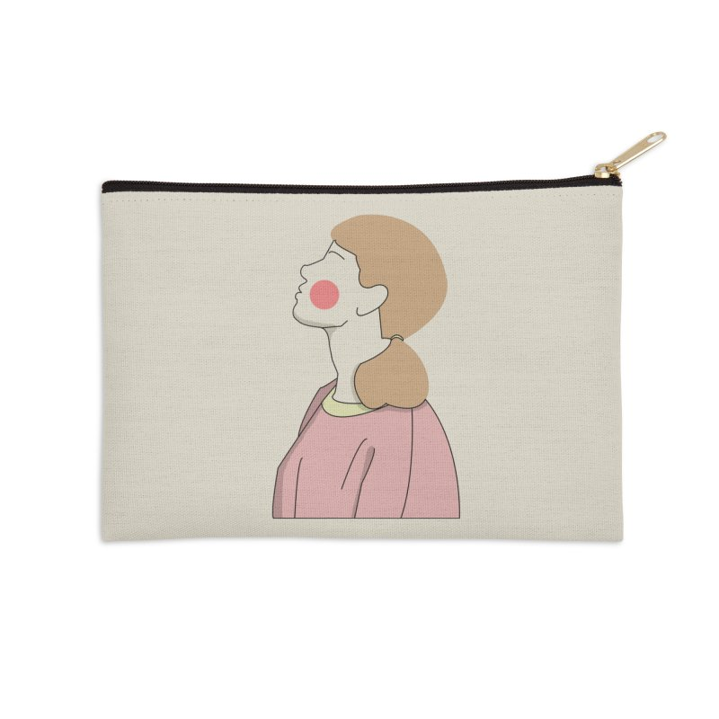 lady Accessories Zip Pouch by theladyernestember's Artist Shop