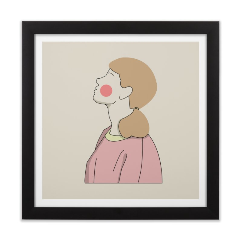 lady Home Framed Fine Art Print by theladyernestember's Artist Shop
