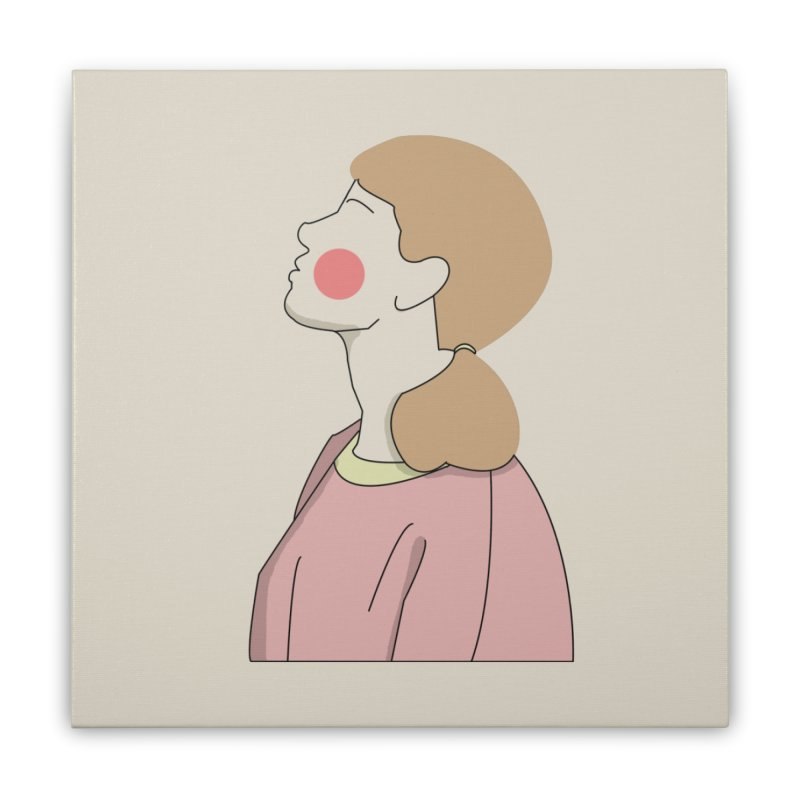 lady Home Stretched Canvas by theladyernestember's Artist Shop