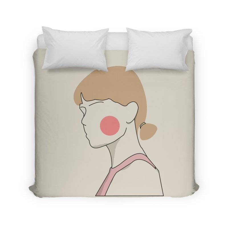 Lady Home Duvet by theladyernestember's Artist Shop