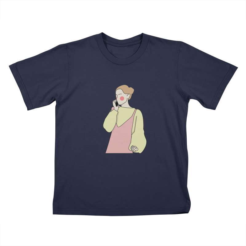 Lady Kids T-Shirt by theladyernestember's Artist Shop