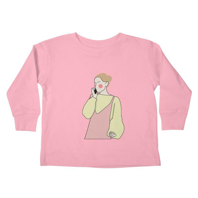 Lady Kids Toddler Longsleeve T-Shirt by theladyernestember's Artist Shop