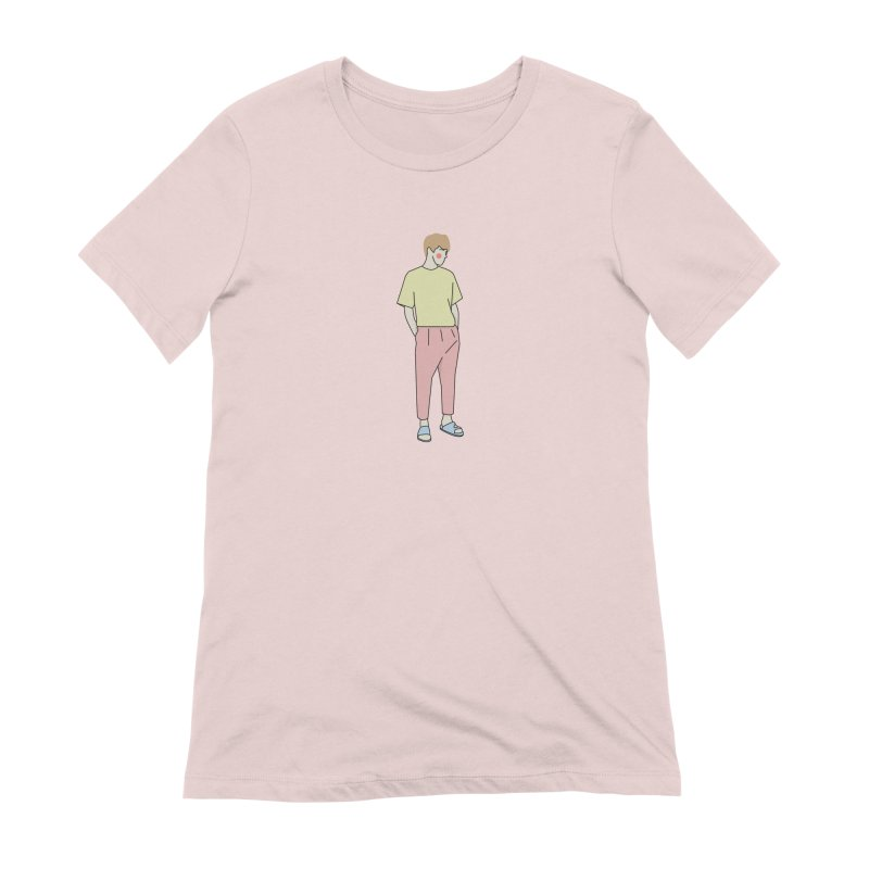 boy Women's T-Shirt by theladyernestember's Artist Shop