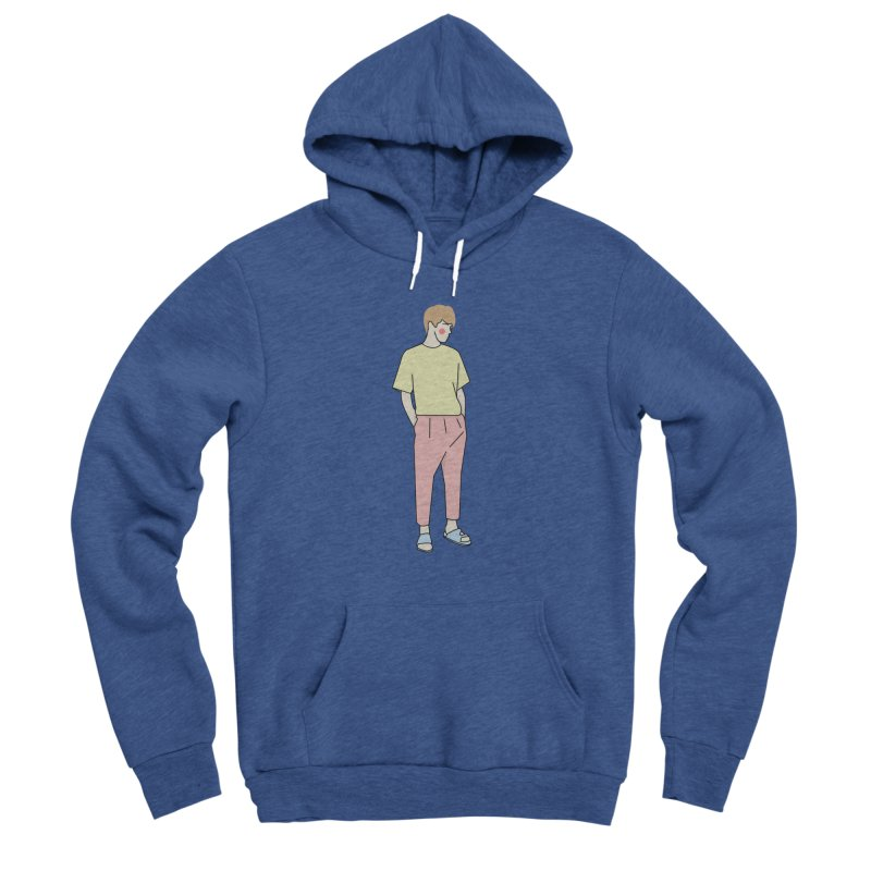 boy Men's Sponge Fleece Pullover Hoody by theladyernestember's Artist Shop