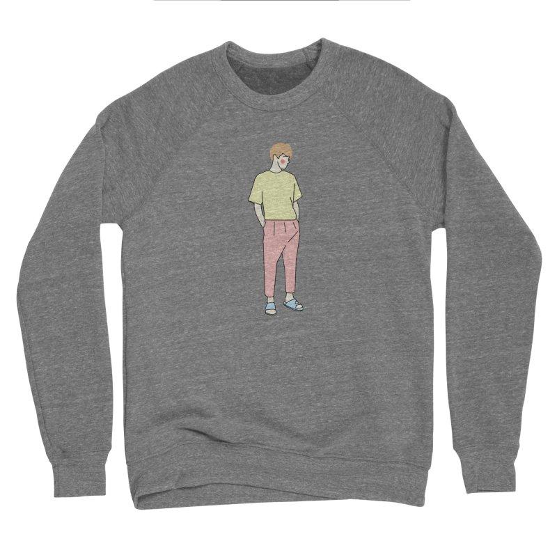 boy Women's Sponge Fleece Sweatshirt by theladyernestember's Artist Shop