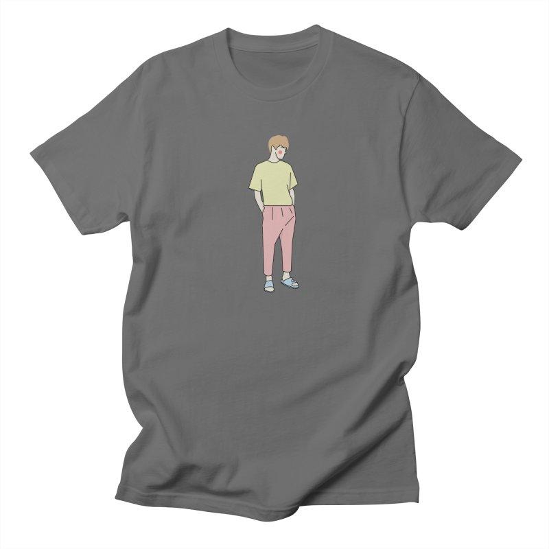 boy Men's T-Shirt by theladyernestember's Artist Shop