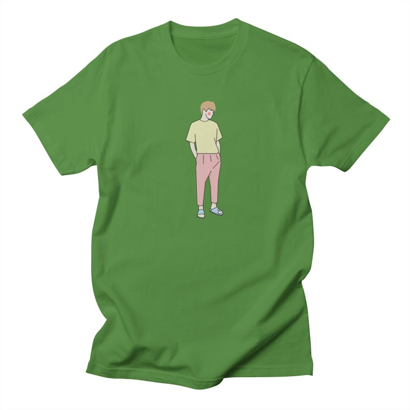 boy Women's Regular Unisex T-Shirt by theladyernestember's Artist Shop