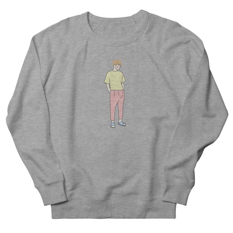 boy Women's French Terry Sweatshirt by theladyernestember's Artist Shop