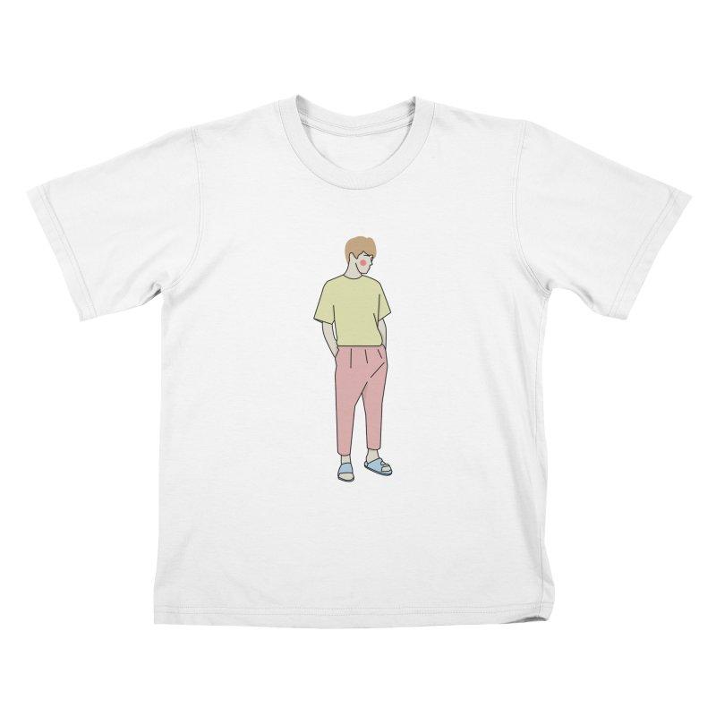 boy Kids T-Shirt by theladyernestember's Artist Shop