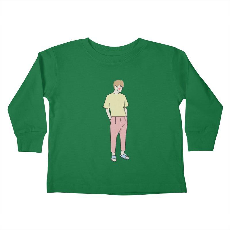 boy Kids Toddler Longsleeve T-Shirt by theladyernestember's Artist Shop