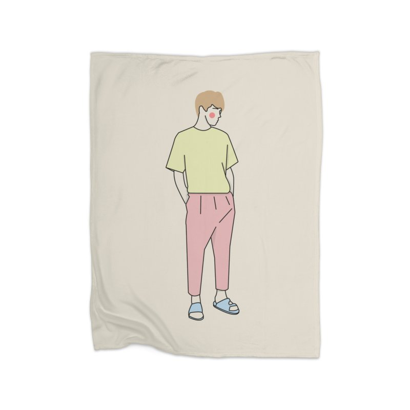 boy Home Blanket by theladyernestember's Artist Shop