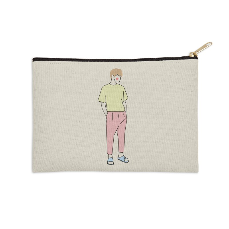 boy Accessories Zip Pouch by theladyernestember's Artist Shop