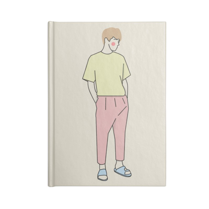 boy Accessories Notebook by theladyernestember's Artist Shop