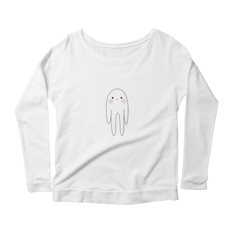 spoky Women's Scoop Neck Longsleeve T-Shirt by theladyernestember's Artist Shop