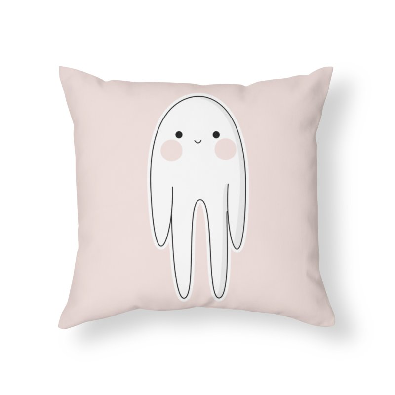 spoky Home Throw Pillow by theladyernestember's Artist Shop