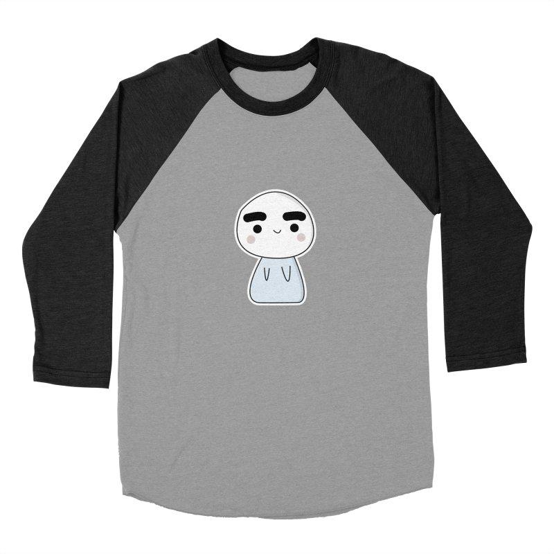 momo Men's Baseball Triblend Longsleeve T-Shirt by theladyernestember's Artist Shop