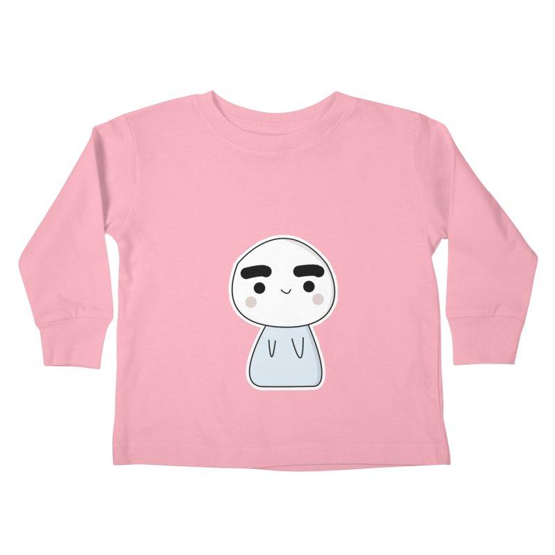 momo Kids Toddler Longsleeve T-Shirt by theladyernestember's Artist Shop