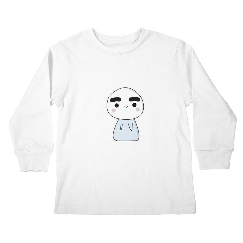 momo Kids Longsleeve T-Shirt by theladyernestember's Artist Shop
