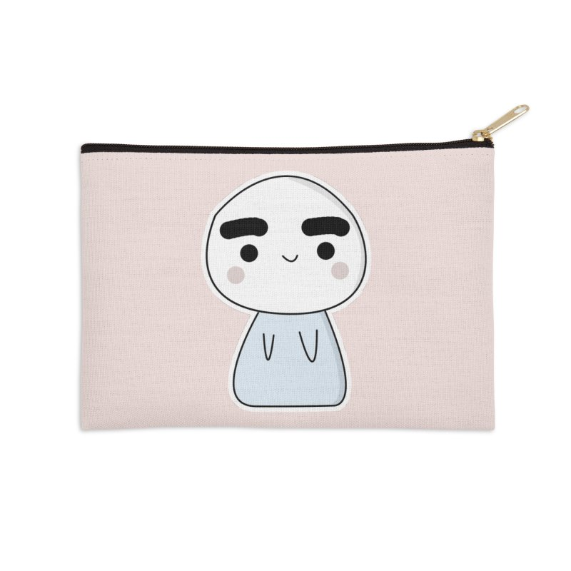 momo Accessories Zip Pouch by theladyernestember's Artist Shop