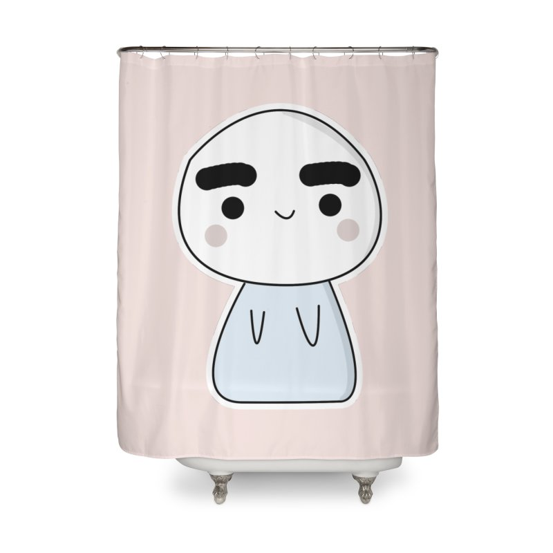 momo Home Shower Curtain by theladyernestember's Artist Shop