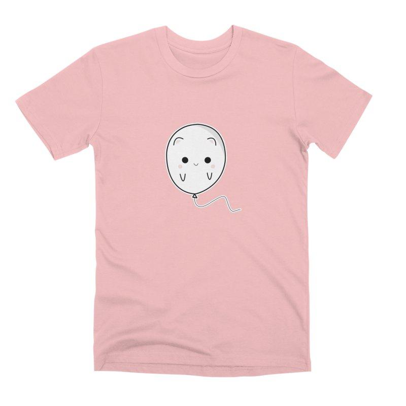 cat balloon Men's Premium T-Shirt by theladyernestember's Artist Shop