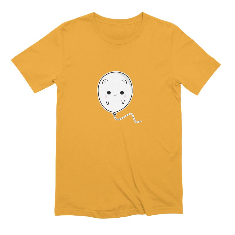 cat balloon Men's Extra Soft T-Shirt by theladyernestember's Artist Shop