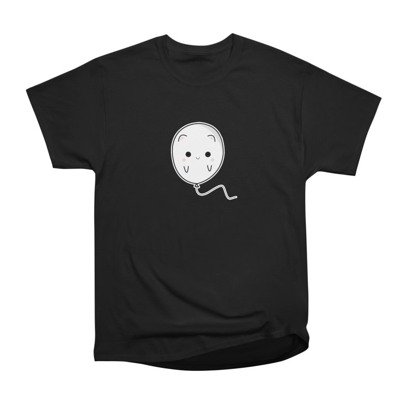 cat balloon Women's Heavyweight Unisex T-Shirt by theladyernestember's Artist Shop