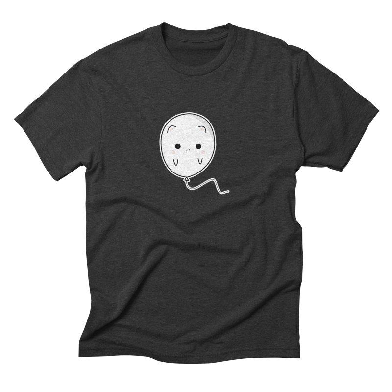 cat balloon Men's Triblend T-Shirt by theladyernestember's Artist Shop
