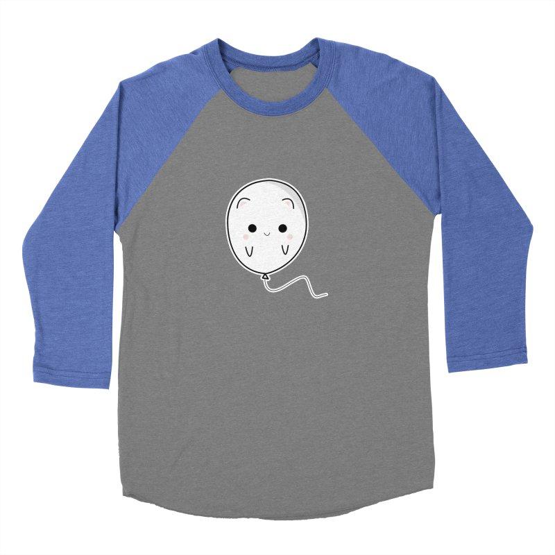 cat balloon Men's Baseball Triblend Longsleeve T-Shirt by theladyernestember's Artist Shop