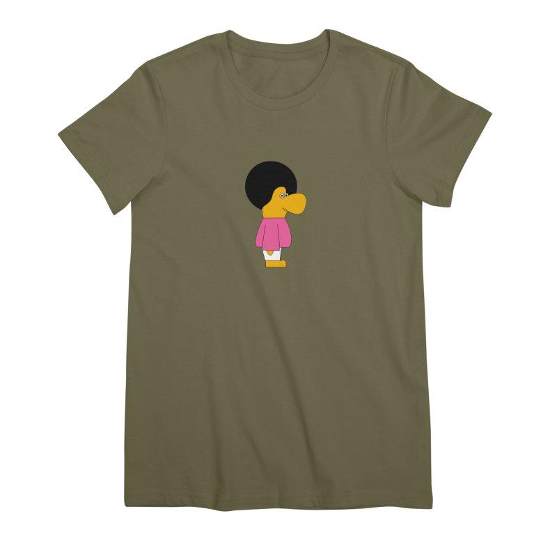 Big Nose Women's Premium T-Shirt by theladyernestember's Artist Shop