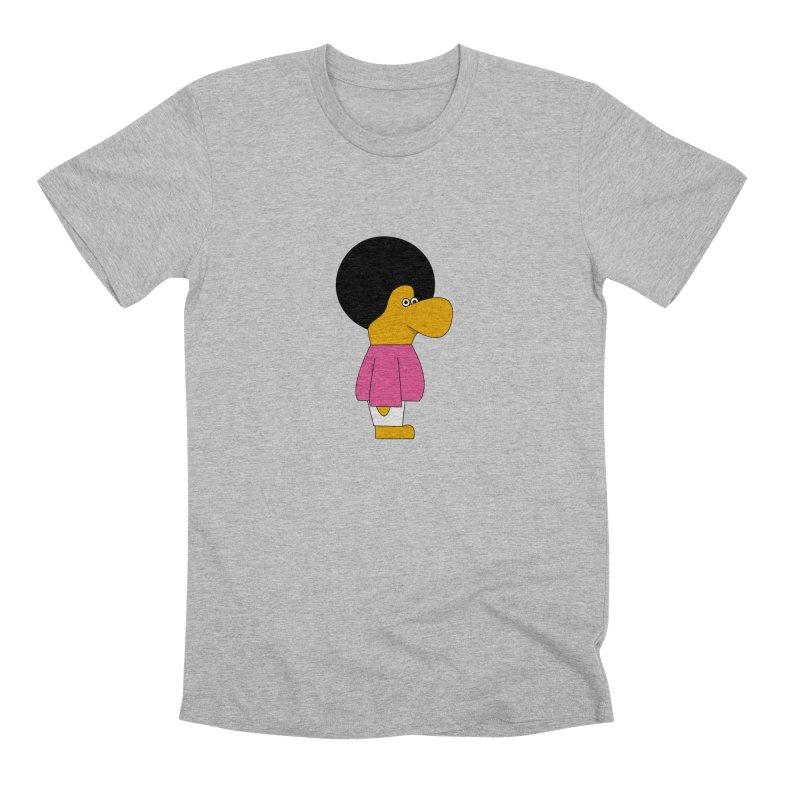 Big Nose Men's Premium T-Shirt by theladyernestember's Artist Shop