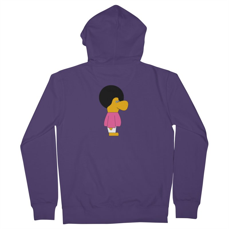 Big Nose Women's French Terry Zip-Up Hoody by theladyernestember's Artist Shop