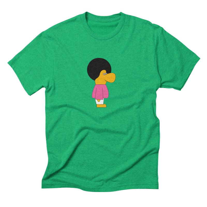 Big Nose Men's Triblend T-Shirt by theladyernestember's Artist Shop