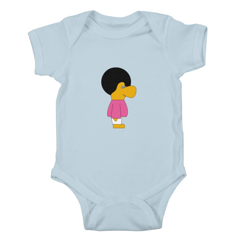 Big Nose Kids Baby Bodysuit by theladyernestember's Artist Shop
